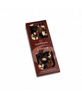 Gardini Lastra di Cioccolato Fondente e Frutta Secca 320g