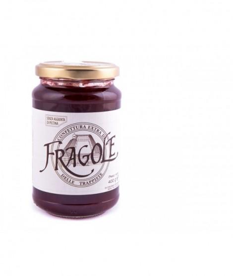 Confettura Extra di Fragole Monastero delle Trappiste 400 g